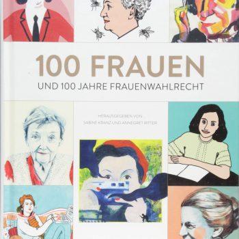 Buchcover 100 Frauen - verschiedene Frauenköpfe