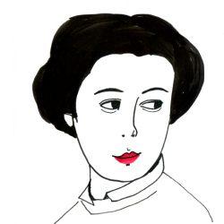 Portrait von Alma Siedhoff Buscher, Designerin